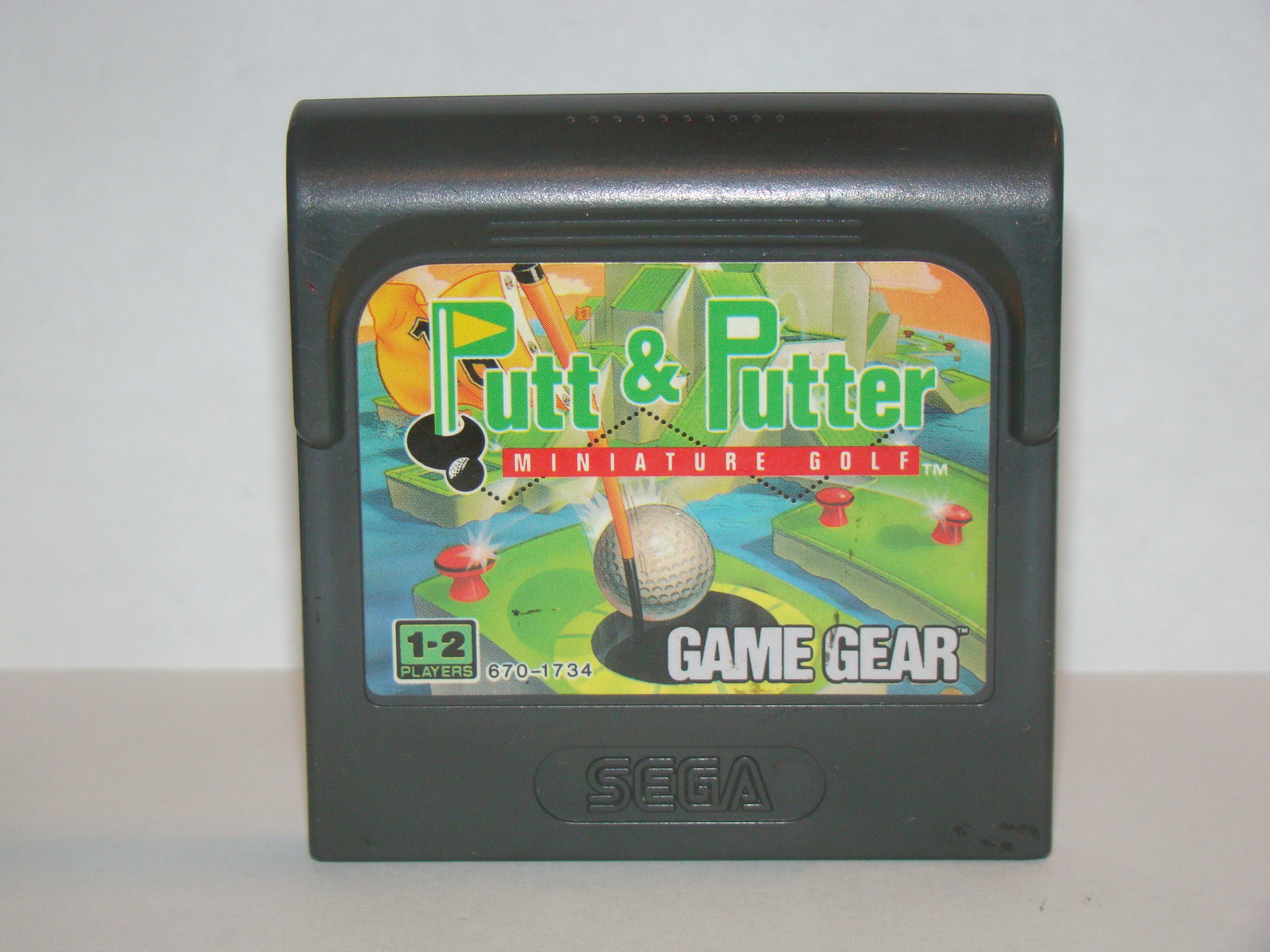 SEGA GAME GEAR - Putt & Putter MINIATURE GOLF (Game Only)