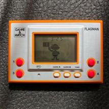 FLAGMAN FL-02 GAME & WATCH SILVER 1980 NINTENDO Retro Japan very good co... - $593.99