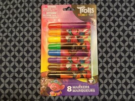 Dreamworks Trolls World Tour 8 Piece Marker Set