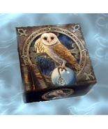 Haunted SPELL KEEPER ALIGN BOND SEAL SPIRITS MAGICKALS MIRROR OWL Cassia4  - $50.00
