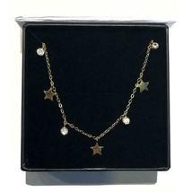 Crystal Stars Drop Choker, Star Choker Necklace, valentines day necklace... - $59.39