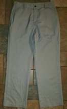 Men's Adidas Climalite pants 32 x 31 gray - $19.79