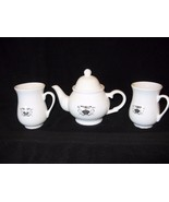 Tea Set, Walkers of London, 1977, Tea Pot and Two Beakers, Mugs, Perfect! - $19.75