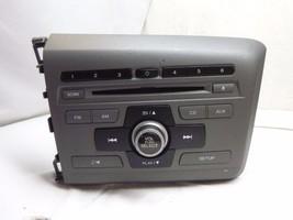 2012 12 Honda Civic Radio Cd Player & Theft Code 39100-TR0-A315 2BC6 KC0853 - $24.95