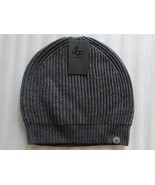 UGG Hat Rib Knit Slouch Beanie Grey or Black One Size - $44.99
