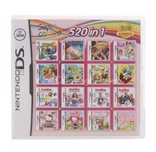 Nintendo NDS 520 IN 1 Video Game Cartridge Console Card - $40.95