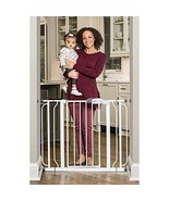 Regalo Easy Step Extra Wide Baby Gate, Includes 4-Inch and 4-Inch Extens... - $47.99