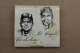Ron Swaboda and Ed Kranepool THE DUGOUT Restaurant Matchbook Mets - $48.51
