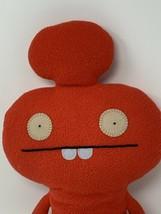 """Uglydoll Cozymonster MYNUS Plush 2010 Red 16"""" Soft Stuffed Toy #10432 - $12.86"""