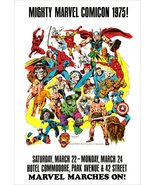 Marvel Comics Reproduction 1975 COMICON 18 x 26 Inch Poster - Superhero - $30.00