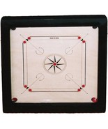 """Top Grade 27.5"""" Large Carrom Wooden Board Game With acrylic Coins And St... - £99.75 GBP"""