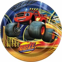 "Blaze and the Monster Machines 8 9"" Dinner Lunch Plates Truck - $3.99"