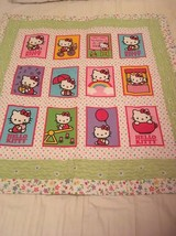 Hello Kitty handmade lap quilt - $70.00