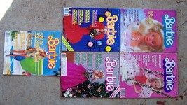 Vintage 1980's Barbie magazines Lot of (5) - $22.28