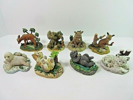 Lot of 8 The Hamilton Collection Protect Natures Innocents Sculptures Fi... - $36.88