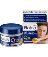 Balea Q 10 Anti-Wrinkle Night Cream 50 ml with Omega Complex - $11.22