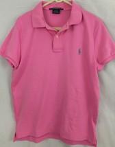 Ralph Lauren Sport Slim Fit Pink Polo 100% Cotton M Medium - $34.99