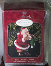 Hallmark Keepsake Membership Ornament 1998 New Christmas Friend NIB - $5.00