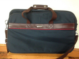 Vtg Samsonite Sidekicks II Navy Blue Expandable Carry On Suitcase Bag Lu... - $39.99