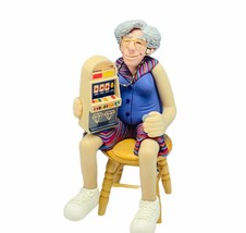Grandma figurine decor gift humor mothers day casino slot machine retire... - $59.35