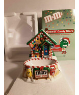 "Dept 56 M&M""s Candy Store Lighted House & Candy Dish - $13.86"