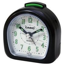 Casio TQ148 Travel Alarm Clock with Neo Display - $9.99