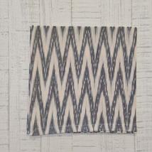 ALEXIS Napkins - Set of 6 - Charcoal/Parchment Creme - 100% Cotton - VHC Brands