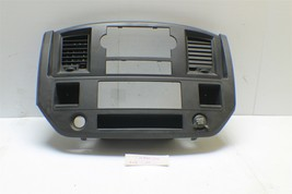 2004-2008 Dodge Ram Center Dash Panel Radio Trim Bezel A/C Vents 11 2W2 - $49.49