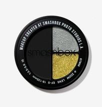 Smashbox Photo Edit EYE Shadow Trio TOTAL SCENE Show Star Boy GOLD SILVE... - $16.65