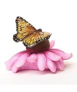 Big Sky Carvers Stonecast Monarch Butterfly Sculpture Figurine B5030071 - $18.91