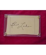 BERT LAHR  Autographed Signed Signature Cut w/COA - 30676 - $125.00
