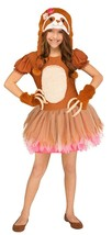 Fun World Sassy Bradipo Animali Carino Abito Bambini Costume Halloween 1... - $27.47