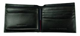 Tommy Hilfiger Men's Leather Credit Card Wallet Billfold Black 5675-01 image 6