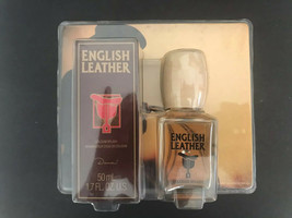 English Leather Splash Cologne for Men 1.7 fl oz/ 50 mL Vintage Dana NIP - $24.74