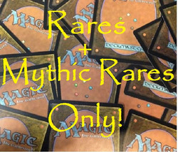 TEN (10) Random Magic: The Gathering MTG Rare or Mythic Rare Cards Lot -... - $10.85