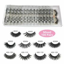 MAANGE® False Eyelashes 10/20/30/50/100Pairs/lot 3d Mink Lashes Natural ... - $15.08+
