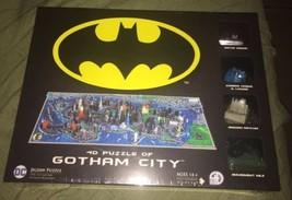 DC 4D Jigsaw Puzzle Of Gotham City  - $69.99
