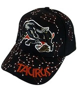 Zodiac Horoscope Sign Adult Size Adjustable Baseball Caps (Taurus) - $12.95