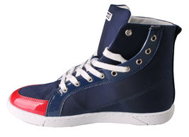Heyday Shift Lite Core Blue Nylon Red Patent Leather Hi Top Shoes 10US 43 NIB image 5