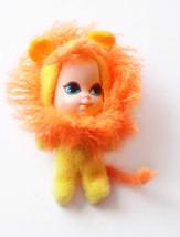 Lucky Lion Animiddle Kiddles 3635 Little Kiddles Doll Mattel Vintage 1960s Safet - $38.99