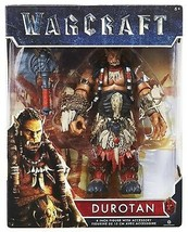 Warcraft Movie DUROTAN Action Figure with Axe 6-inch Jakks NEW 2016 Worl... - $10.79