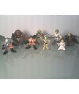 Lot 8~ Star Wars Action Figures~ Hasbro - $6.92