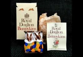 1974 vintage ROYAL DOULTON BUNNYKINS SLEEPYTIME w/BOX figurine - $87.95