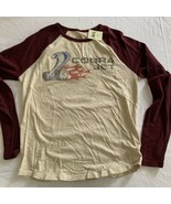 Lucky Brand Powered by Ford Cobra Jet L/S Baseball Graphc T-Shirt M New NWT - $28.49