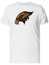 Falcon Head Mascot Cartoon Men's Tee -Image by Shutterstock - $12.86+