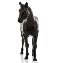 "Hagen-Renaker Miniature Ceramic Horse Figurine Thoroughbred ""Citation"" image 11"