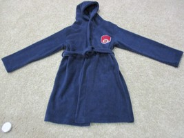 BNWT The Children's Place Fleece robe with hood, boys, navy, Size XL(14) - $23.76