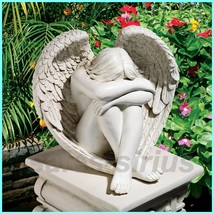 Garden Statue Figurine Angel Sculpture Saint Figure Outdoor Patio Fairy ... - €85,65 EUR