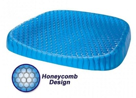 Gel Cushion Honeycomb Seat & Non-Slip Cover - Design Sitter Helps Pressure Point image 2