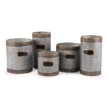Latitas Set Of 5 Planters Antique  - €151,21 EUR